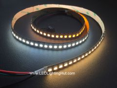144LED/m Addressable SK6812 WWA White Adjustable 5050 LED Strip, 5V DC