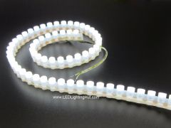Extra Flexible F5 DIP LED Strip,  96 LEDs, 12V, Silicone Tube Waterproof