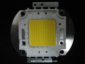 Epistar 100W 45mil Chip  High Power LED, 9000-10000 lumens, Warm/ Pure White Available