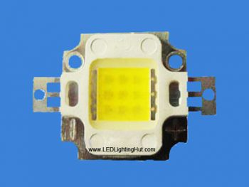 Epistar 10W 45mil Chip High Power LED, 810-990 lm, Warm/Pure White Available