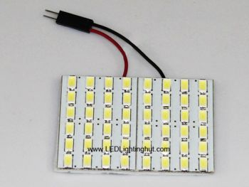 48 SMD5630 LED Automotive Reading / Panel Light, T10 / BA9S / Festoon