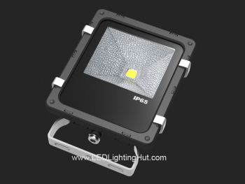 10W Outdoor LED Flood Light, 50 Watt Halogen Floodlight Replacement
