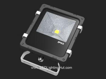 10W Outdoor LED Flood Light, 50 Watt Halogen Floodlight Replacement