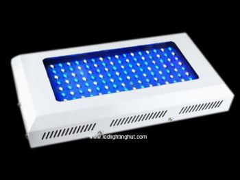 120 Watt Aquarium Coral Reef Tank White Blue LED Grow Light, 120 Degree Beam Angle