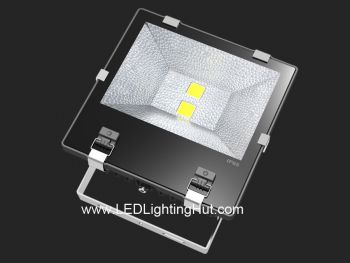 120W High Power LED Flood Light Fixture, 600W Halogen Floodlight Equivalent