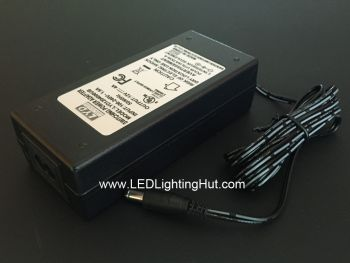 12V DC 4 Amp 48W LED Plug-in Power Supply Adapter, 100-240V AC Input