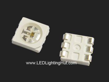 12V GS8208  5050 RGB LED, Chip-Built-in, 100 Pack