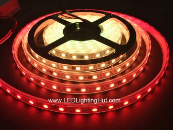 WS2811 IC Digital Intelligent LED Strip Light, 60 LED/m, 20 WS2811 IC/m, DC12V, 5m Reel
