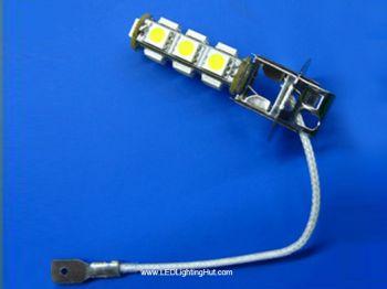 13 SMD5050 H3 LED Fog Light Bulb (2 pack)