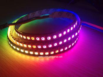 144 LED/M APA102 Digital Intelligent RGB LED Light Strip, 5V DC