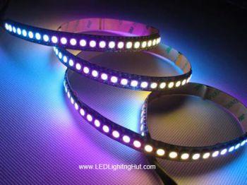 144 LED/m NeoPixel WS2812B Digital Intelligent  RGB LED Strip Light