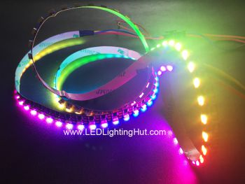 120 LED/m SK6812 4020 Side Light Digital RGB LED Strip, 5V, 1m