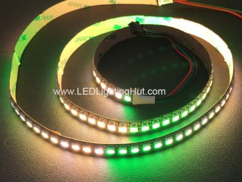 144 LED/m SK6812 4 in 1 RGBW Digital Addressable LED Strip,  5VDC