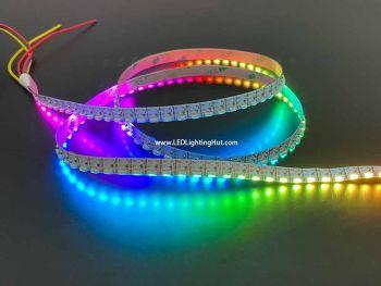 144/m SK6812 Digital RGB Side Emitting LED Light Strip, 5V, 1m Reel