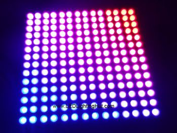 14x14 APA102 Digital Intelligent RGB Flexible LED Matrix, 5V