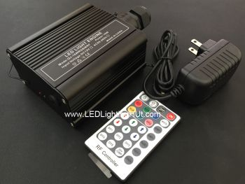 16 Watt RGBW LED Illuminator with RF remote