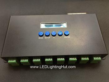 16CH Artnet SPI Pixel Controller, 5440 Pixels, Support WS2801, WS2811, LPD6803, TLS3001, LPD8806 Series Driving IC