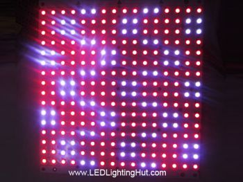 16x16 Rigid WS2812B Digital Addressable RGB LED NeoPixel Matrix, DC5V input
