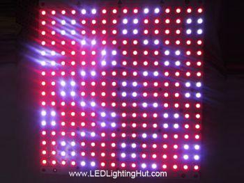 16x16 Rigid WS2812B Digital Addressable RGB LED NeoPixel Matrix, DC5V input