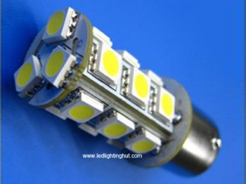 18 SMD5050 T20 BY15S LED Turning Light (2 pack)