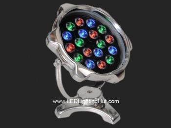 18W LED Underwater Pool Light, W/R/G/B/RGB Optional