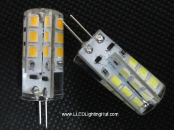 1.5W 28 SMD3014 Side-Pin G4 LED Replacement Bulb, 12V AC/DC Compatible