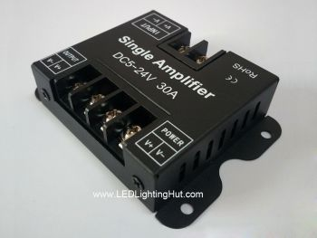 1 Channel LED Signal Amplifier/Repeater, 5-24V, 30A