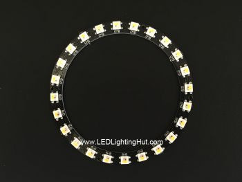 24 x SK6812 RGBW 5050 Digital LED Ring
