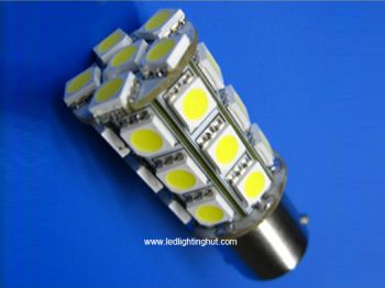24 SMD5050 T20 BY15S LED Turning Light (2 pack)
