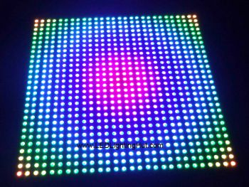 28x28 Digital Addressable APA102 Flexible LED Matrix Board, 5V