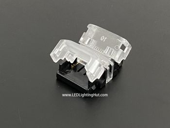 2 Conductor 8/10mm Wide Strip to Strip Clamp on Solderless Connector