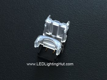 2 Conductor Strip to Wire Connector for 8mm/10mm Single Color LED Strip