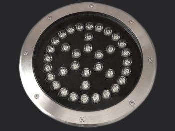 36W High Power LED Inground Lighting, IP65 Waterproof, RGB/R/G/B/W Optional
