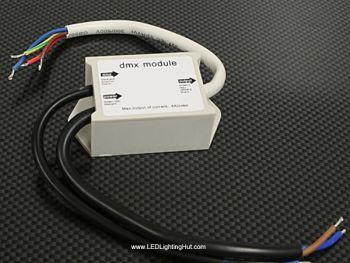 3 Channel RGB LED DMX 512 Module, 12V, 2A/CH