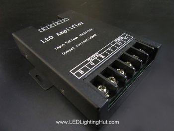 3 Channels RGB Signal Amplifier, 10A/CH, 5V-24V DC