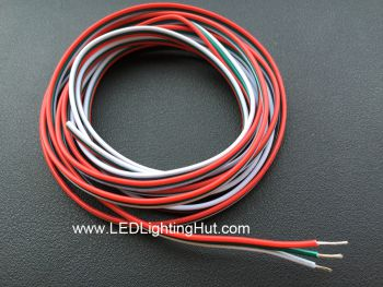 3 Conductor 20AWG Extension Power Wire, Sold by Meter
