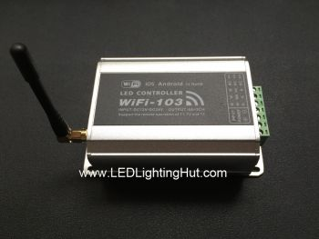 3 in 1 WiFi-103 LED WiFi Controller, 12-24VDC, 4A/CH