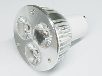 3W GU10 LED Spotlight, 20 Watt Halogen Bulbs Replacement