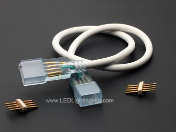 4-wire Extension Jumper Connector for Driveless RGB LED Strip