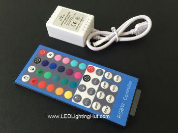 40 Keys RGBW LED Strip IR Remote Controller