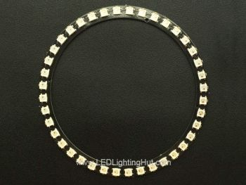 40 x WS2812B 5050 Digital Addressable RGB LED Ring