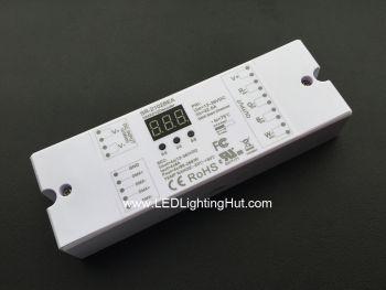 4 Channel RGBW RGBA DMX512 Decoder, 8A/CH, 12-36V DC, Address Digital Display
