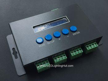 4CH Artnet SPI Pixel Controller, 2720 Pixels, Support WS2801, WS2811, APA102, SK6812, LPD8806 Series Driving IC