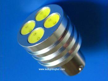 4W High Power SMD T25 BY15S LED Light Bulb 12V (2 pack)