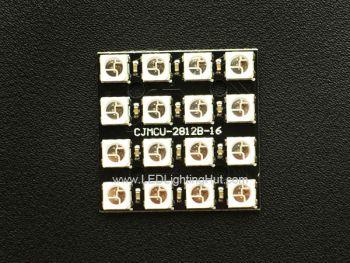 4x4 WS2812B Digital RGB LED Matrix Board, 30 x 30 mm