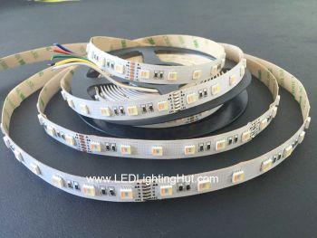 5-in-1 RGB+CCT Tunable White 2700K-6500K, 60/m, 24V DC, 5m Reel