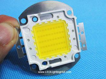 50 Watt Epistar 45mil Chip High Power LED, 4500-5000 lumen, Warm/Pure White Available