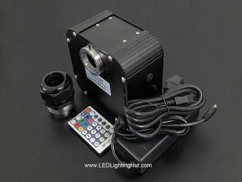 50W RGB+White DMX Twinkle illuminator with RF remote
