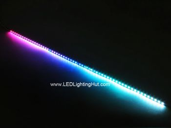 50cm SK6812 4020 Side Light Digital RGB LED Bar, 60LEDs/0.5m, 5V
