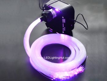 50W RGB+White DMX Twinkle illuminator with RF remote